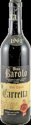 Veglia F,lli - Carretta Barolo 1961