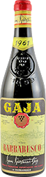 Gaja Barbaresco 1961