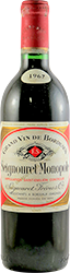 Seignouret Monopole Bordeaux 1967