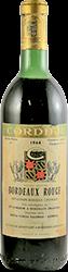 Cordier Bordeaux 1964