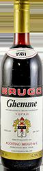 Brugo Agostino Ghemme 1981