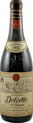 Serio & Battista Borgogno Dolcetto 1981