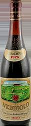 Serio & Battista Borgogno Nebbiolo 1974