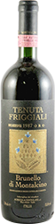 Tenuta Friggiali - Selezione Oro Brunello di Montalcino 1987