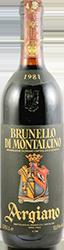 Argiano Brunello di Montalcino 1981