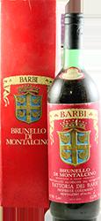 Fattoria dei Barbi - Riserva Brunello di Montalcino 1977