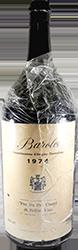 Pra Da  Po - Ciurel di Bellini Vito Barolo 1974