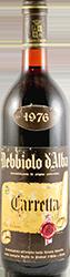 Carretta Nebbiolo d'Alba 1976
