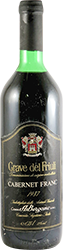A. Bergamo Cabernet Franc 1987