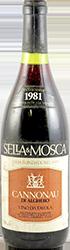 Sella & Mosca Cannonau di Alghero 1981