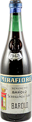Mirafiore Barolo 1943
