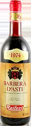Cantine F.lli Raiteri Barbera d'Asti 1974