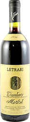 Cantina Letrari Merlot 1986