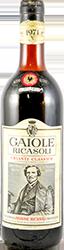 Ricasoli - Gaiole Chianti 1971