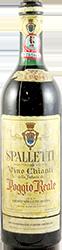 Poggio Reale - Spalletti  Chianti 1964