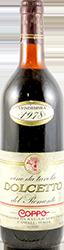 Coppo Luigi Dolcetto del Piemonte 1978