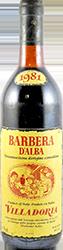 Villadoria Barbera d'Alba 1981