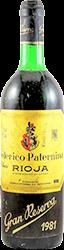Federico Paternina Rioja 1981