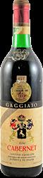 Gaggiato - Riserva Cabernet 1964