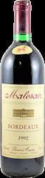 Malesan - Bernard Magret Bordeaux 1992