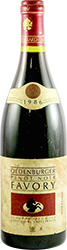Favory Pinot Noir 1986