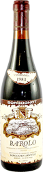 Borgongo Lodovico Barolo 1983