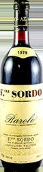 Sordo F.lli Barolo 1979