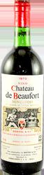 Chateau de Beaufort Minervois 1973