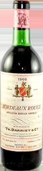 Th. Darriet Bordeaux 1966