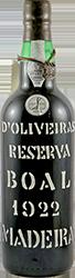 Pereira Oliveira's - Boal - bott- 2005 Madeira 1922