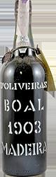 D'Oliveira - Boal - Colheita Madeira 1903