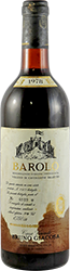 Bruno Giacosa - Villero di Castiglione Falletto Barolo 1978