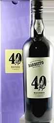 Barbeito Vinhos - Malvasia - 40 anni - Vinho do Reitor Madeira N.V.