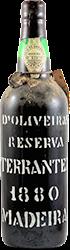 D'Oliveira - Terrantez - Reserva Madeira 1880