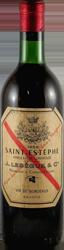 J. Lebegue Bordeaux - Saint Estephe 1959