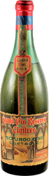 Antoine Depagneux - Grand Vin Reserve des Cloitres Bourgogne 1934