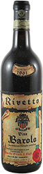 Rivetto Ercole - Riserva Barolo 1961