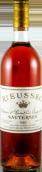 Chateau Rieussec Sauternes 1980