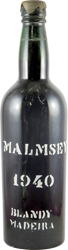 Blandy's - Malmsey Madeira 1940