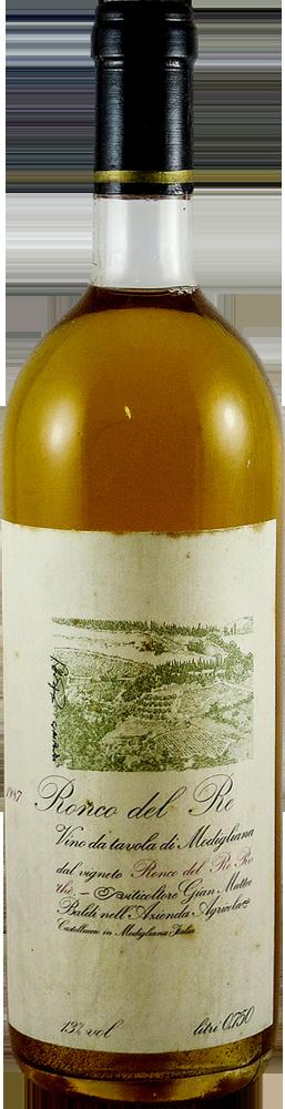 Ronco del Re  Vino da Tavola di Modigliara 1987