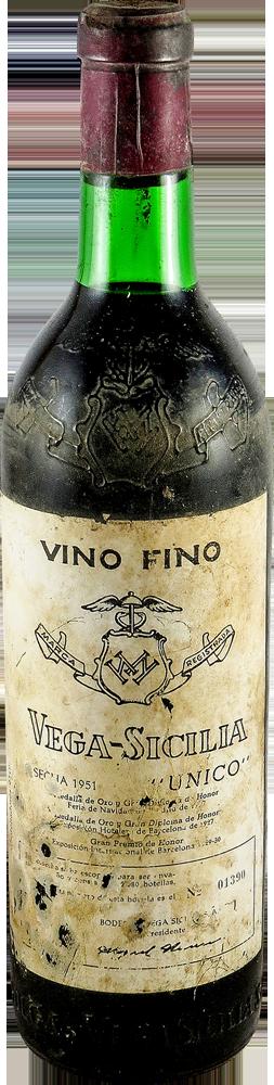 Vega Sicilia Unico 1951