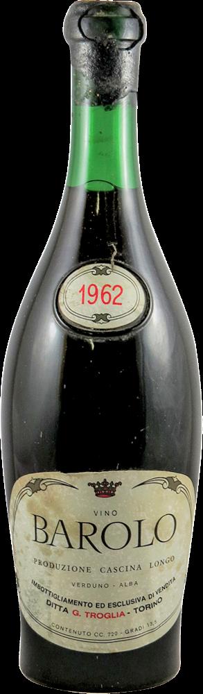Troglia G. - Cascina Longo Barolo 1962