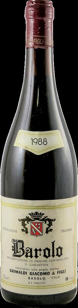 Grimaldi Giacomo Barolo 1988