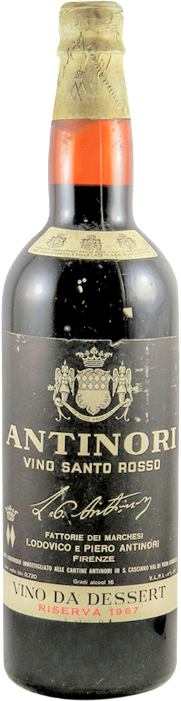 Antinori Vino Santo Rosso 1967