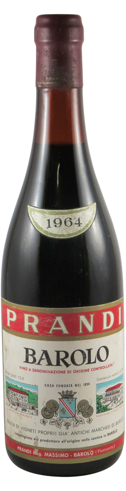 Prandi Barolo 1964