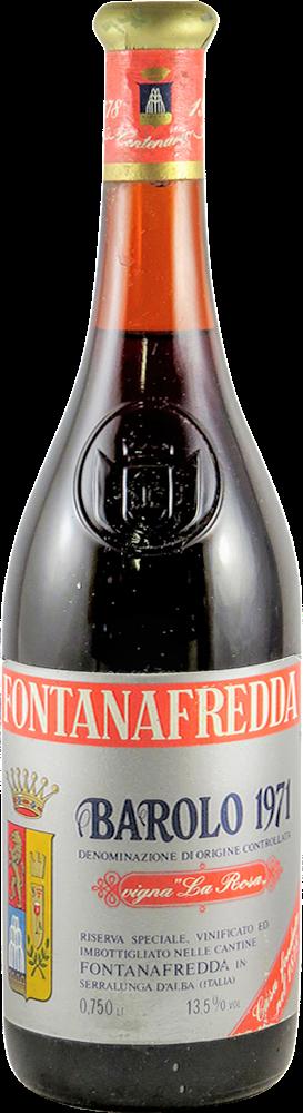 Fontanafredda – La Rosa Barolo 1971