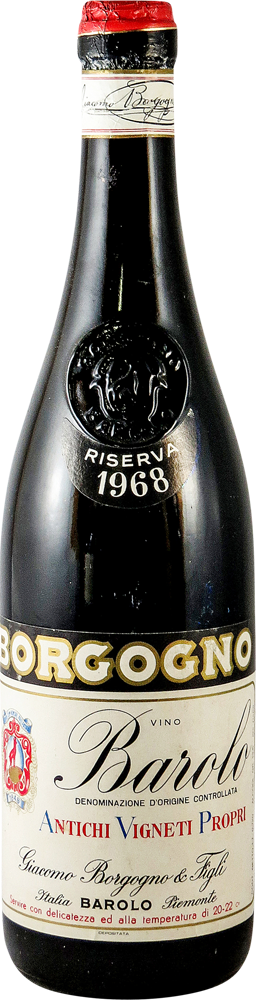 Giacomo Borgogno - Riserva Barolo 1968