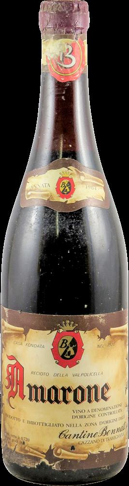 Cantine Bennati Amarone 1964