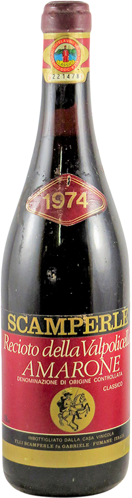 Scamperle Amarone 1974