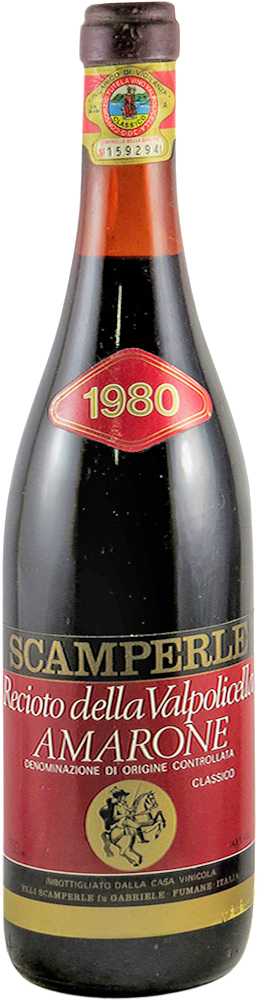 Scamperle Amarone 1980